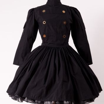 Steampunk,Military,Lolita,Gothic,Dress,steampunk, steam punk, army, military, dress, gothic, goth, gothic loltia, lolita, loli, goth loli, cosplay, costume, halloween, steampunk dress, steam punk dress, goth dress, gothic dress, gothic lolita dress, goth loli dress, lolita dress, steampunk lol