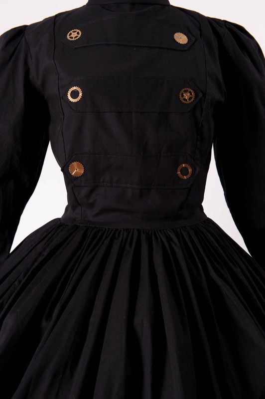Steampunk Military Lolita Gothic Dress - product images  of