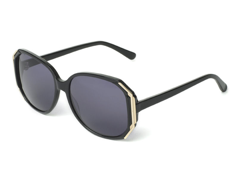 Gold Decor Hexagon Frame Sunglasses - product images  of