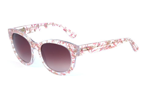 Pink,Floral,Square,Frame,Sunglasses,Heidi London, Pink Floral Square Frame Sunglasses, Amal Alamuddin Clooney wears Heidi London Sunglasses, Amal Alamuddin Clooney sunglasses