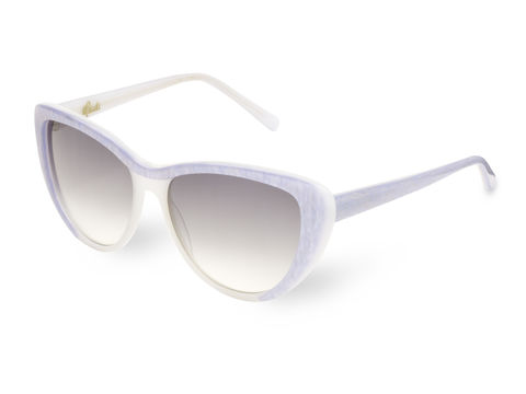 Pearl,Sparkle,Cateye,Frame,Sunglasses,Heidi London, Sparkle Cateye Frame Sunglasses