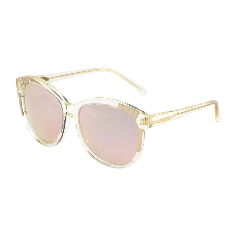 Rose Gold Mirrored Decor Sunglasses - New - product images  of