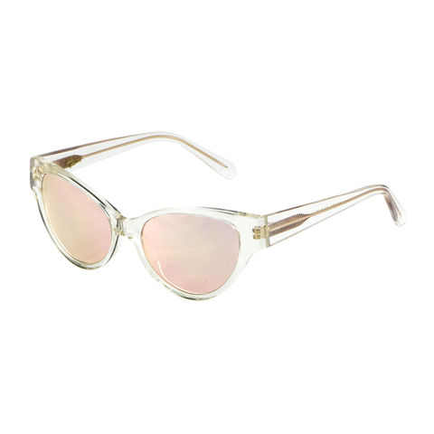 Rose,Gold,Mirrored,Cateye,Sunglasses,-,New,mirrored sunlgasses, heidi london