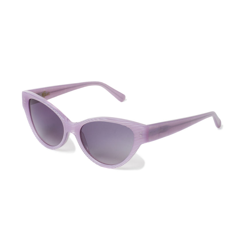Pink Stripe Cateye Sunglasses - New - product images  of