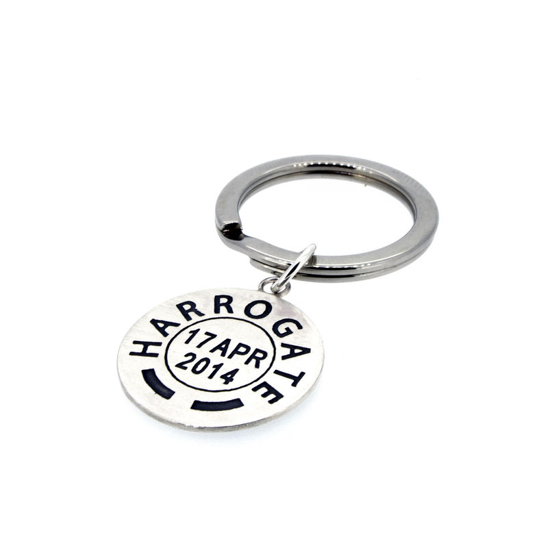 Personalised Postmark Keyring - product images  of