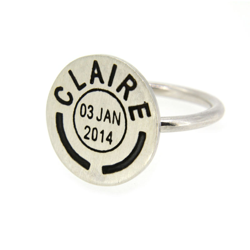 Personalised Postmark Ring - product images  of