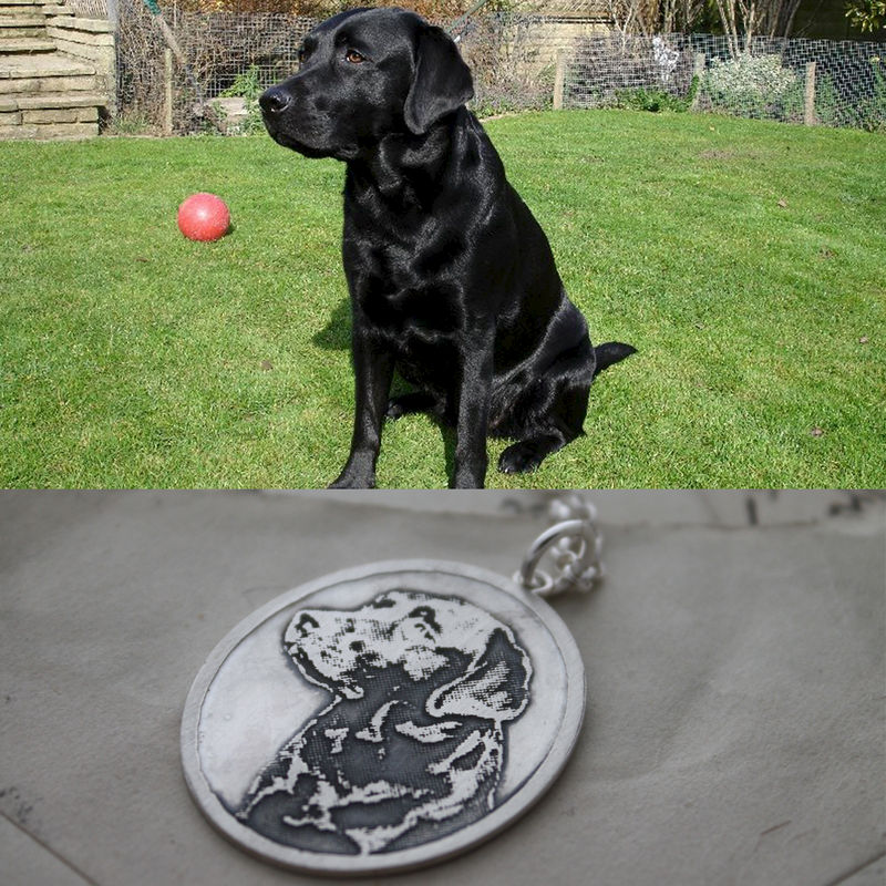 Personalised Pet Pendant - product images  of