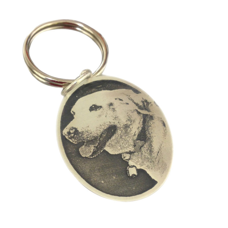 Personalised Pet Keyring - product images  of
