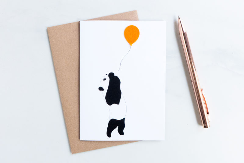 The Party Panda card - product images  of