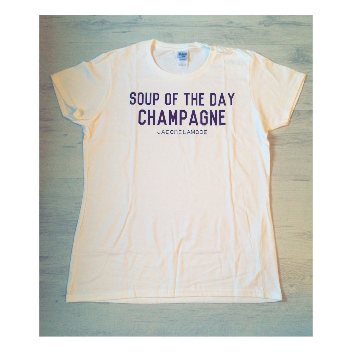 Soup of the day tee  - product image