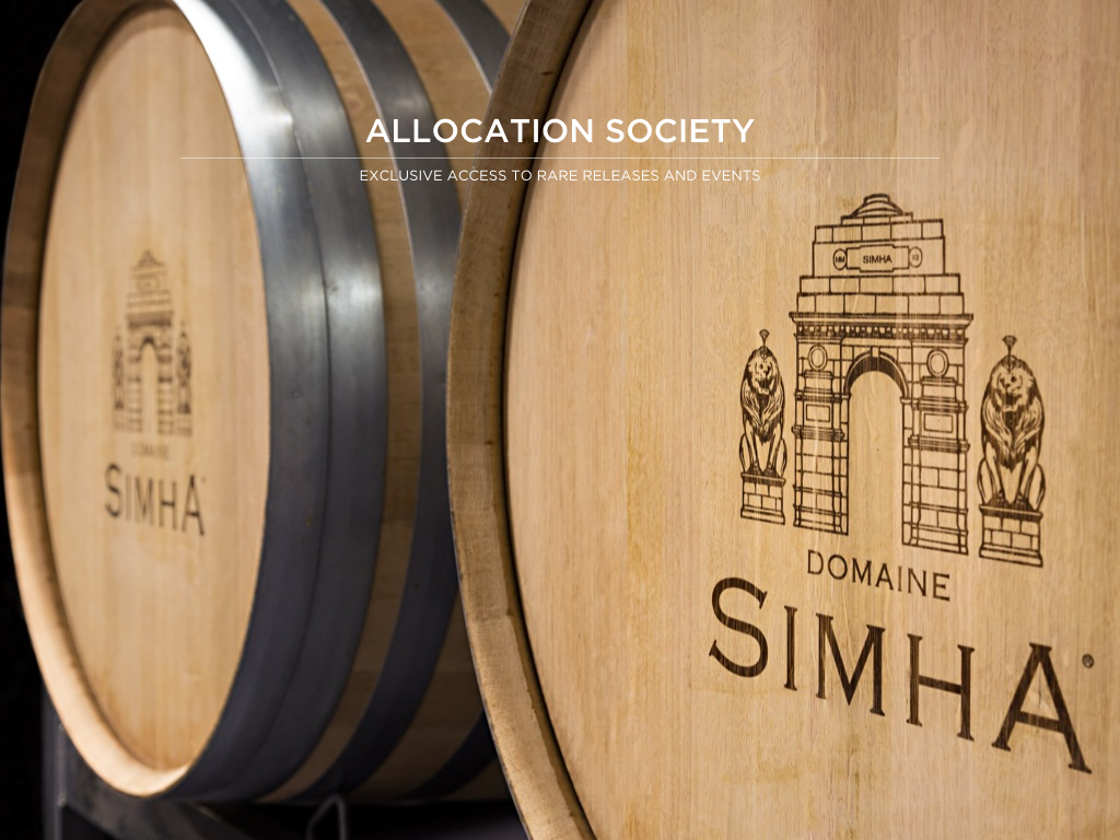 Domaine Simha Tasmania wine allocation society