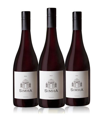 2015,TOP,PINOT,NOIR,SELECTION,(case,6),Wine Domaine Simha Raja Rana Rama top fine pinot noir Tasmania Australia Nav Singh Louise Radman natural method naturel pinot noir riesling