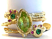 Jewellery for the Summer. Romancing the Birthstone: Part 3 - Peridot