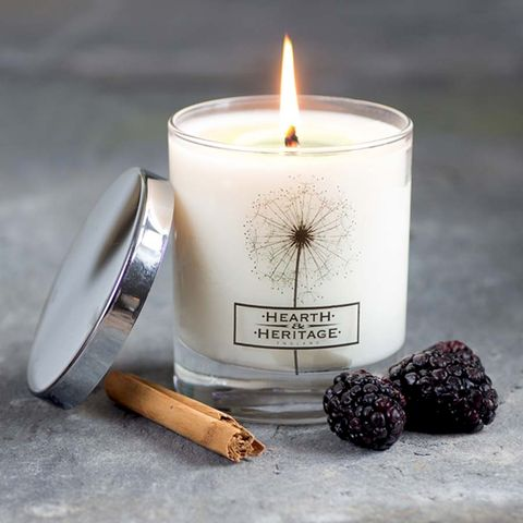 Spiced,Mulberry,Natural,Wax,Scented,Candle, cinnamon, Soy wax, strong scented candle, made in uk, english candle, natural candle