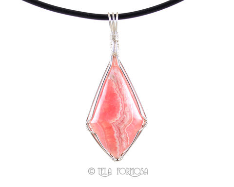 Argentina,Rhodochrosite,Pendant,Pink,Natural,Stone,Sterling,Silver,Handmade,Wire,Wrapped,Jewelry,Pink_Stone_Pendant,stone_pendant,Natural_Stone,Cabochon_Pendant,Sterling_Silver,Wire_Wrapped_Jewelry,pink_stone,wire_wrapped_pendant