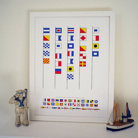 Daddy,is,the,Captain,of,our,Ship,message,in,naval,signal,flags,print.,Can,also,be,personalised.,Art,Print,Giclee,Nautical_Print,Signal_Flags,Father's_Day,Daddy,Sailing,Sailor,Birthday,Anniversary,Retirement_Gift,Leaving_Present,Nautical_Decoration,Cryptic_Message,Navy