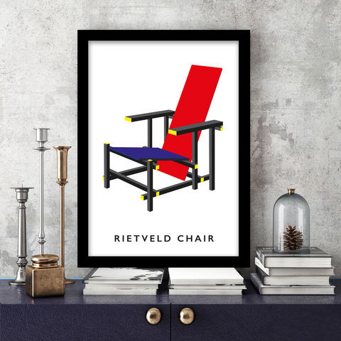 Design,Icons,Prints,Design Icons, Graphic Print, Rietveld, Rubix, Lego, Building Blocks, Pop Art, Modern Art, Primary Colours