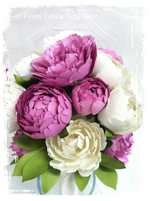 Raspberry Barrett Bouquet Set - product images  of