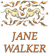 Jane Walker Greyhound Fabric and Decor