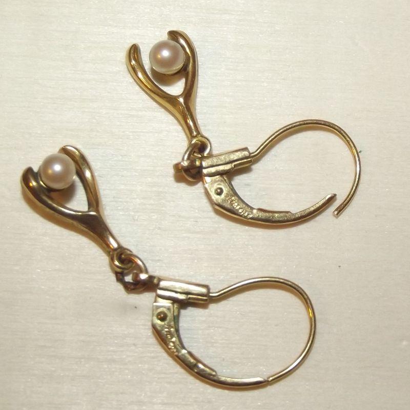 wishbone earrings anson faith s serendipity vintage jewelry