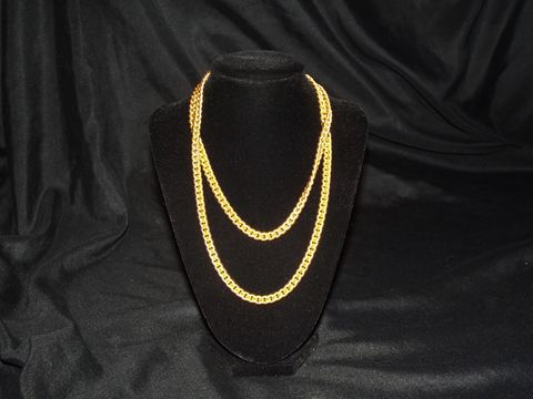 Napier,Chain,Link,Necklace,Napier Jewelry, Costume Jewelry, Necklaces, vintage necklaces