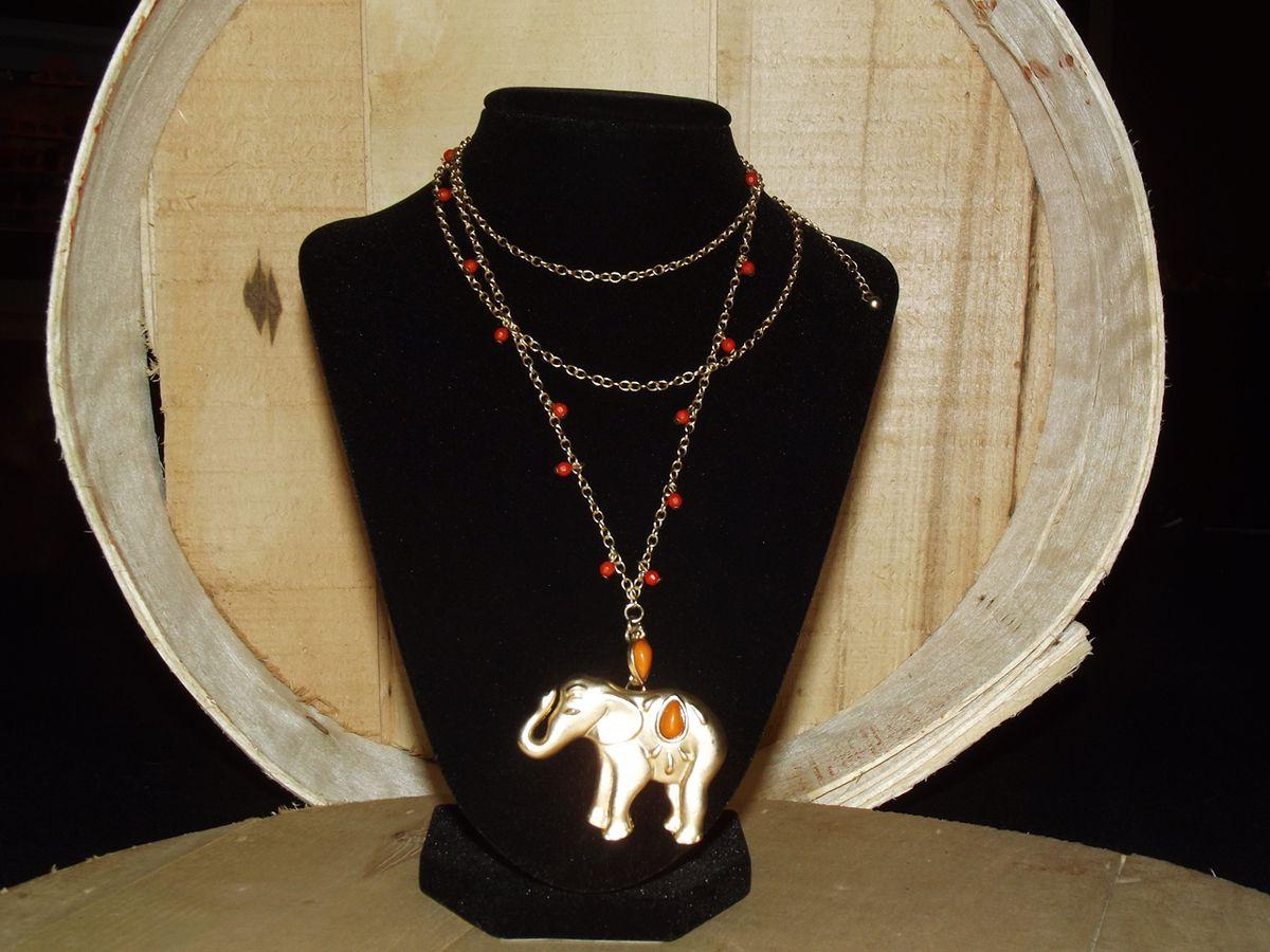 calypso elephant necklace faith s serendipity vintage