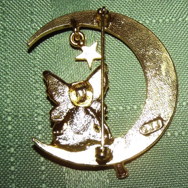 Fairy Sitting Moon Brooch Faith S Serendipity Vintage