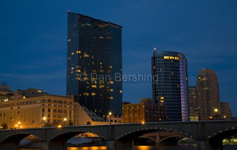 Grand,Rapids,Michigan,Skyline,at,Night,Photograph,art,photography,landscape,michigan,water,scenic,fine_art,photo,print,buildings,night,grand_rapids,river,metallic_paper,photograph,metallic,paper,uv_protected