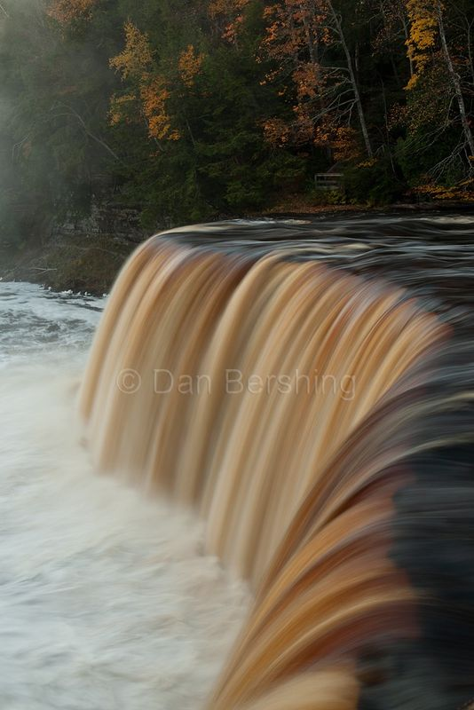 Upper Tahquamenon Falls Michigan Photograph - product image