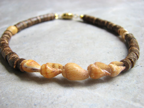 Coconut,and,Shell,Anklet,,Natural,Beach,Jewelry,coconut jewelry, coconut anklet, natural coconut ankle bracelet, coconut and shell anklet, shell anklet, shell ankle bracelet, yellow shell anklet, natural beach jewelry, ocean jewelry, ocean anklet, natural beach anklet, beach ankle jewelry, womens ocean