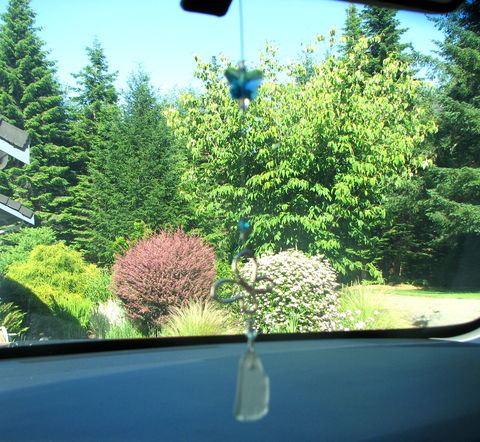 Sea,Glass,Rear,View,Mirror,Charm,,Butterfly,Sun,Catcher,sea glass rear view mirror decoration, mirror charm, butterfly sun catcher, seaglass sun catcher, sun prism, beaded, aqua blue, sparkly, butterfly mirror charm, car hanging, car decoration, beach glass, home decor, garden decor, Hawaiian sea glass, Maui s
