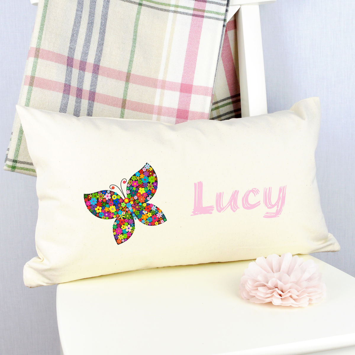 Personalised Butterfly Cushion - product image