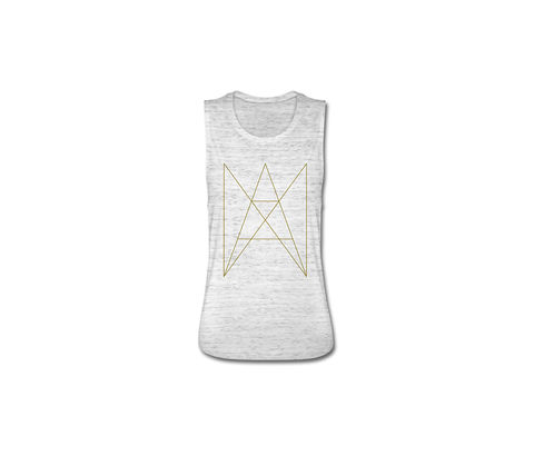 ANA,-,LOGO,TANK,TOP,WOMEN,GOLD