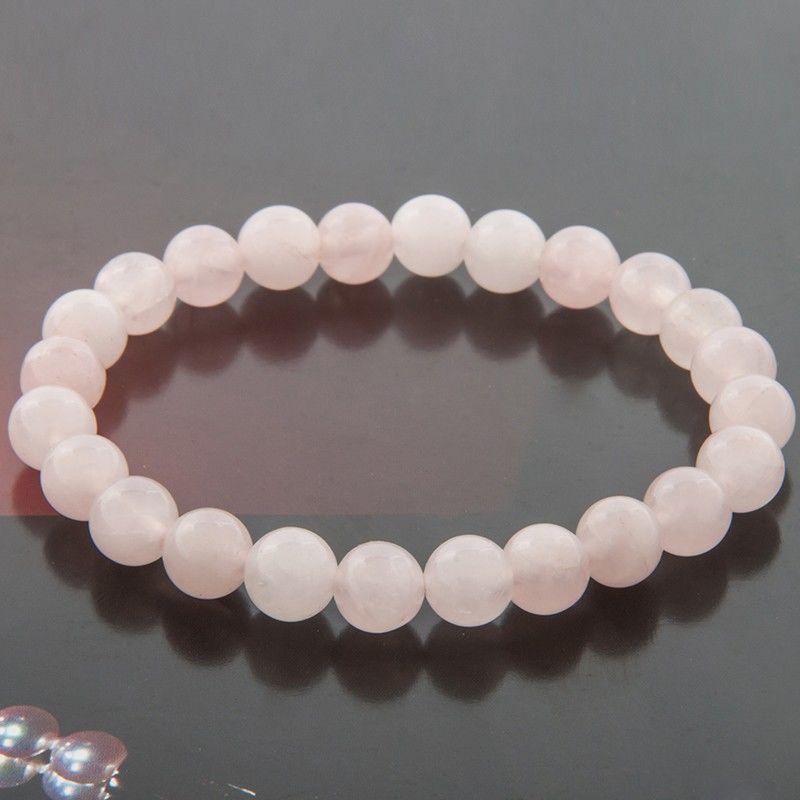 Rose Quartz Bracelet Love Energy Everyday A Mala