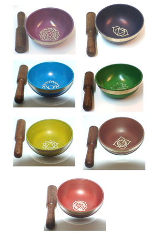 Seven,Chakras,Singing,Bowl,set,seven chakra singing bowl, set , sound