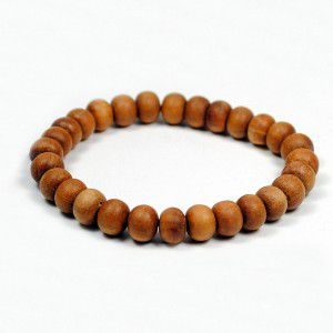 Sandalwood,Mala,Bracelet,27,beads,sandalwood mala, prayer beads, japa mala, india, meditation, yoga, jewelry, wholesale, buddha, store