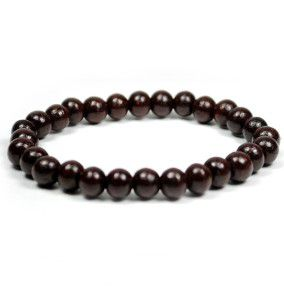 Rosewood,Mala,Bracelet,27,beads,red sandalwood mala,rosewood, prayer beads, japa mala, india, meditation, yoga, jewelry, wholesale, buddha, store