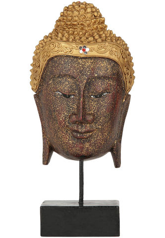 Hand,Crafted,Wooden,Buddha,Mask,buddha, mask, home decor, buddhist, statue, buddhism, store, wholesale