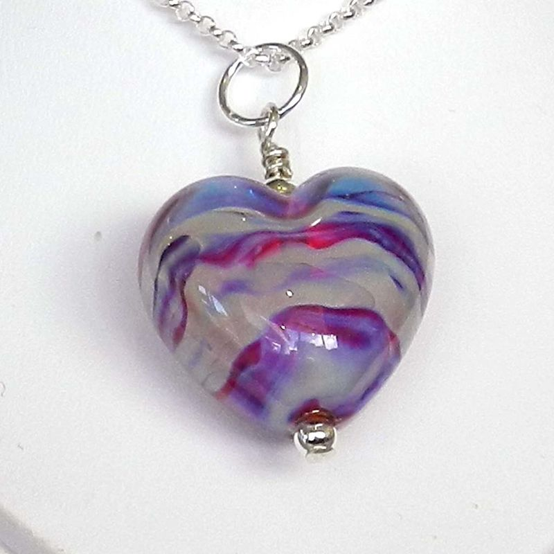 Pink Heart Pendant - product images  of
