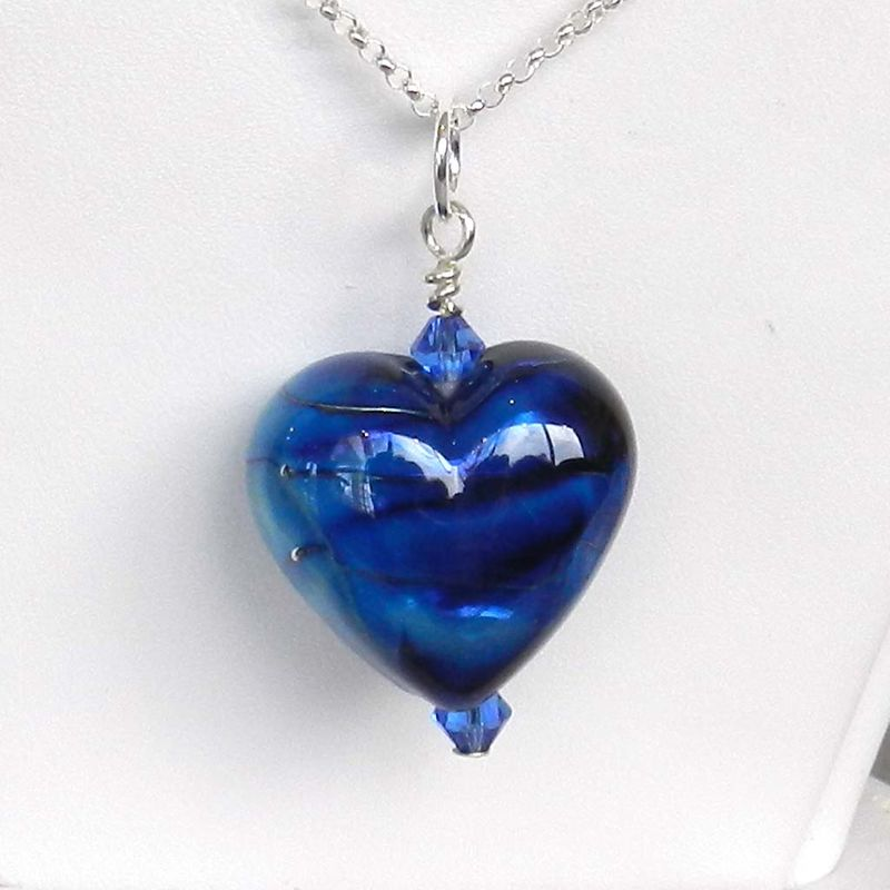 Blue Heart Pendant - product images  of