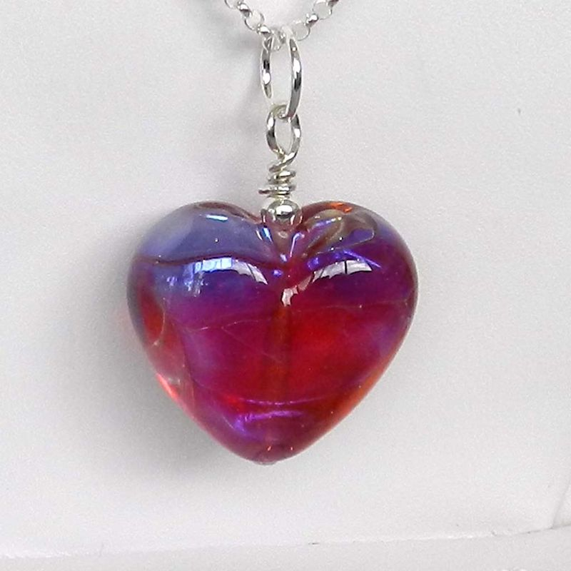 Pink Heart Pendant - 2 - product images  of