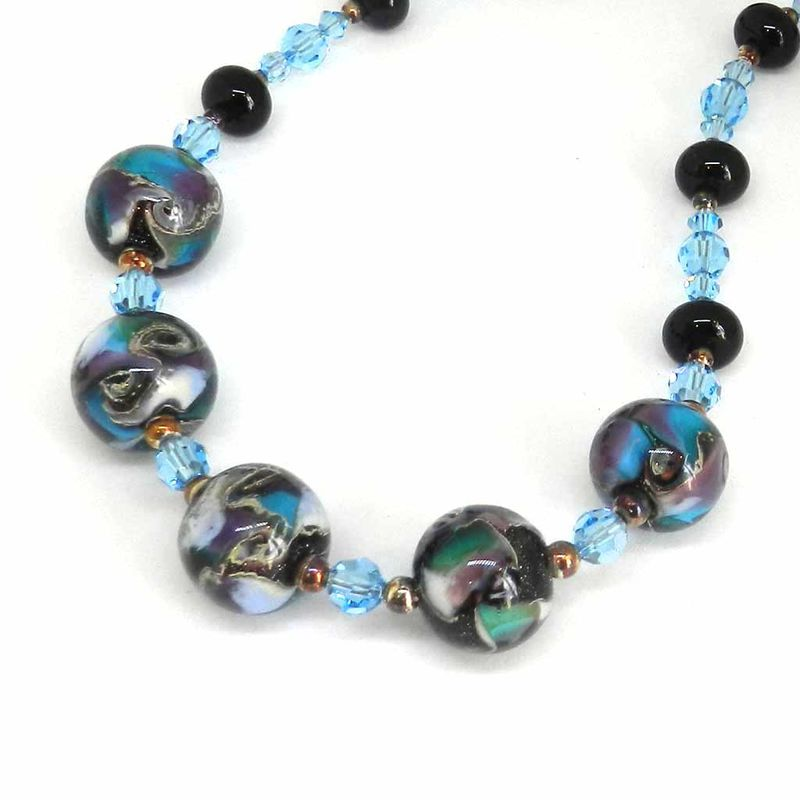 Galaxy Bead Necklace - product images  of