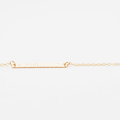 Gold Bar Necklace - product images  of