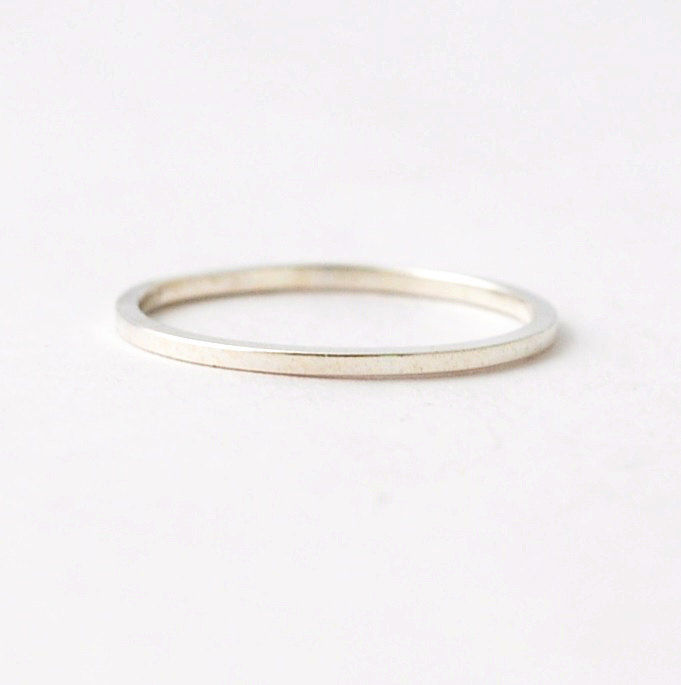 square silver ring blue ridge notions