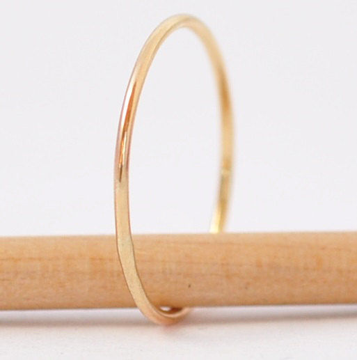 Whisper Thin 10K Yellow Gold Ring - product images  of