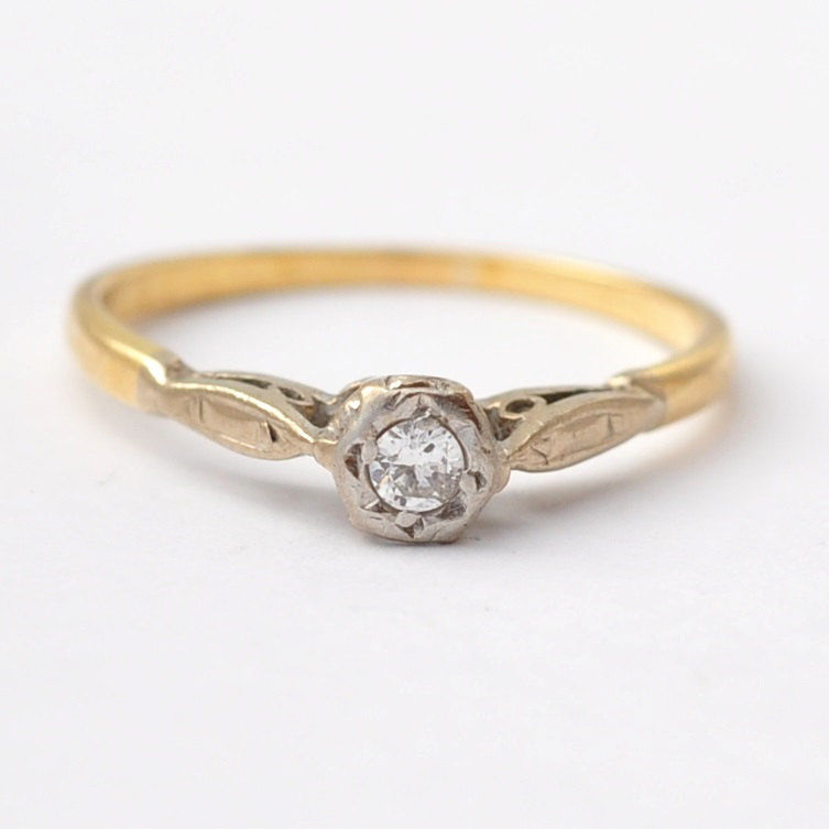 rings cluster engagement gold ring diamond yellow