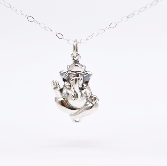 Elephant Ganesh Necklace: Hindu Jewelry - product images  of