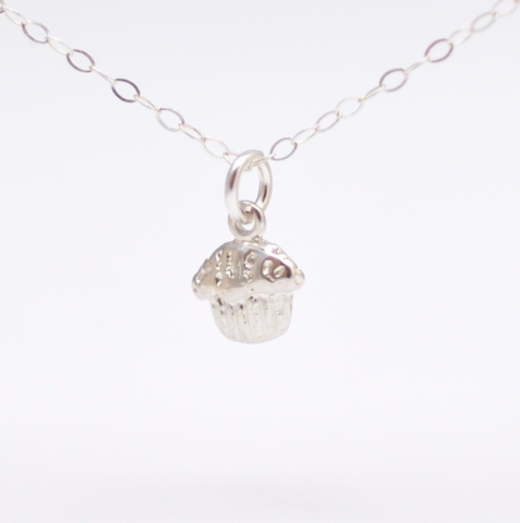 Cupcake Charm Necklace: Gifts for Bakers - product images  of