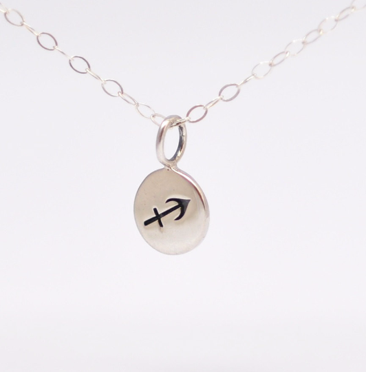 Birthday Gift Ideas: Sagittarius Charm Necklace - product images  of