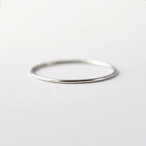 Whisper,Thin,Platinum,Band,Affordable Inexpensive Thin Delicate Skinny Simple Solid platinum Tie The Knot Love Promise Wedding Ring Band Jewelry for Women